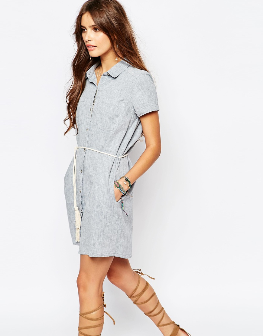 e35cc28cdaa Short Sleeve Shirt Dress