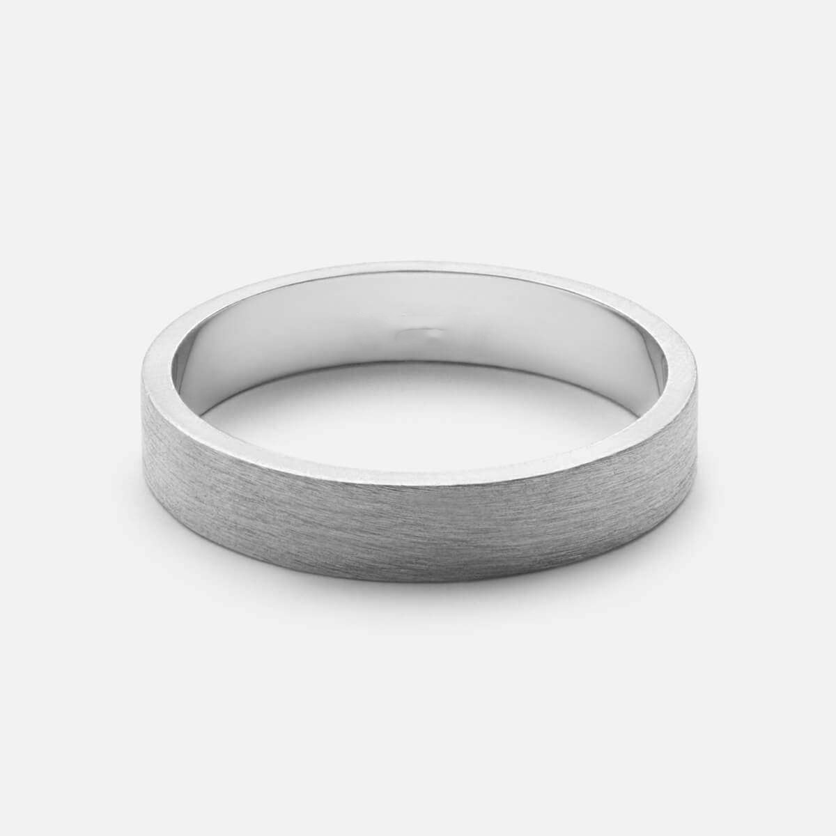 6c2f94f298 4MM Band Ring Silver – Jewelry